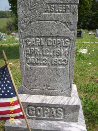 COPAS, CARL - Scioto County, Ohio | CARL COPAS - Ohio Gravestone Photos