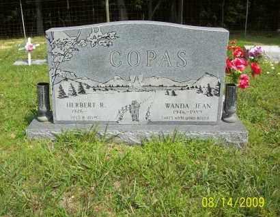 COPAS, WANDA JEAN - Scioto County, Ohio | WANDA JEAN COPAS - Ohio Gravestone Photos