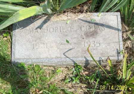 COPAS, MARJORIE E - Scioto County, Ohio | MARJORIE E COPAS - Ohio Gravestone Photos