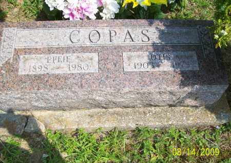 COPAS, EFFIE - Scioto County, Ohio | EFFIE COPAS - Ohio Gravestone Photos