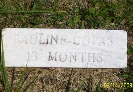 COPAS, PAULINE - Scioto County, Ohio | PAULINE COPAS - Ohio Gravestone Photos