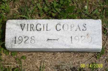 COPAS, VIRGIL - Scioto County, Ohio | VIRGIL COPAS - Ohio Gravestone Photos