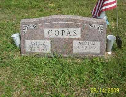 COPAS, ESTHER - Scioto County, Ohio | ESTHER COPAS - Ohio Gravestone Photos