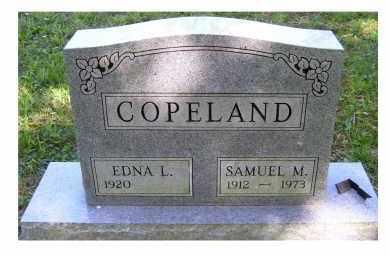 COPELAND, SAMUEL M. - Scioto County, Ohio | SAMUEL M. COPELAND - Ohio Gravestone Photos