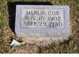 COX, MERLIE - Scioto County, Ohio | MERLIE COX - Ohio Gravestone Photos