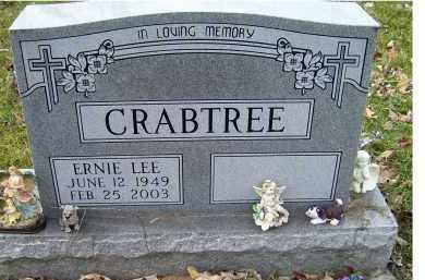CRABTREE, ERNIE LEE - Scioto County, Ohio | ERNIE LEE CRABTREE - Ohio Gravestone Photos