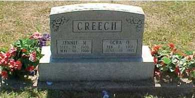 CREECH, OGRA O. - Scioto County, Ohio | OGRA O. CREECH - Ohio Gravestone Photos
