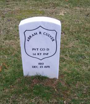 CULVER, ABRAM R. - Scioto County, Ohio | ABRAM R. CULVER - Ohio Gravestone Photos