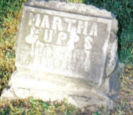 CUPPS, MARTHA - Scioto County, Ohio | MARTHA CUPPS - Ohio Gravestone Photos
