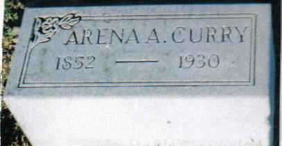 CURRY, ARRENA A. - Scioto County, Ohio | ARRENA A. CURRY - Ohio Gravestone Photos