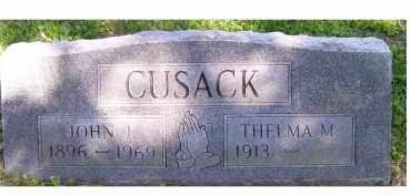 CUSACK, JOHN J. - Scioto County, Ohio | JOHN J. CUSACK - Ohio Gravestone Photos