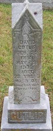 CUTLIP, DAVID - Scioto County, Ohio | DAVID CUTLIP - Ohio Gravestone Photos