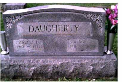 DAUGHERTY, ALMA L. - Scioto County, Ohio | ALMA L. DAUGHERTY - Ohio Gravestone Photos