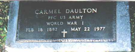 DAULTON, CARMEL - Scioto County, Ohio | CARMEL DAULTON - Ohio Gravestone Photos