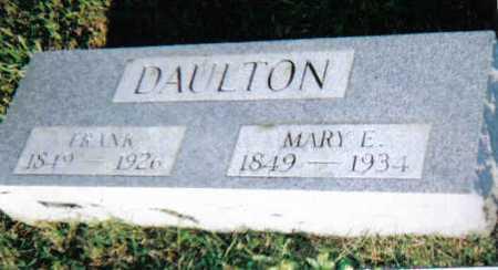 DAULTON, FRANK - Scioto County, Ohio | FRANK DAULTON - Ohio Gravestone Photos