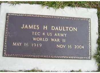 DAULTON, JAMES H. - Scioto County, Ohio | JAMES H. DAULTON - Ohio Gravestone Photos