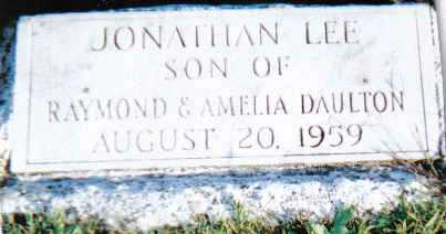 DAULTON, JONATHAN LEE - Scioto County, Ohio | JONATHAN LEE DAULTON - Ohio Gravestone Photos