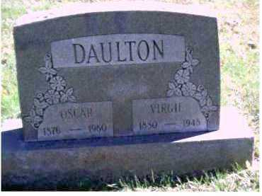 DAULTON, VIRGIE - Scioto County, Ohio | VIRGIE DAULTON - Ohio Gravestone Photos