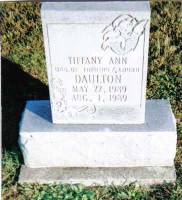 DAULTON, TIFFANY ANN - Scioto County, Ohio | TIFFANY ANN DAULTON - Ohio Gravestone Photos
