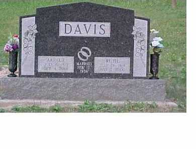 DAVIS, RUTH - Scioto County, Ohio | RUTH DAVIS - Ohio Gravestone Photos