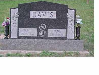 DAVIS, ARTHUR - Scioto County, Ohio | ARTHUR DAVIS - Ohio Gravestone Photos