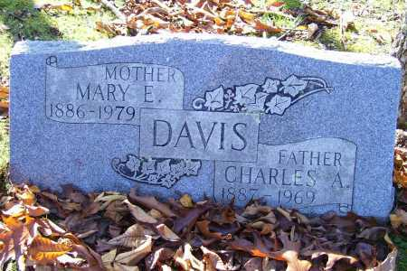 DAVIS, MARY E. - Scioto County, Ohio | MARY E. DAVIS - Ohio Gravestone Photos