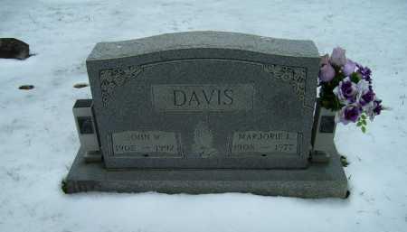 DAVIS, MARJORIE L. - Scioto County, Ohio | MARJORIE L. DAVIS - Ohio Gravestone Photos