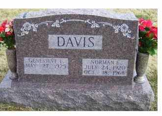DAVIS, NORMAN E. - Scioto County, Ohio | NORMAN E. DAVIS - Ohio Gravestone Photos