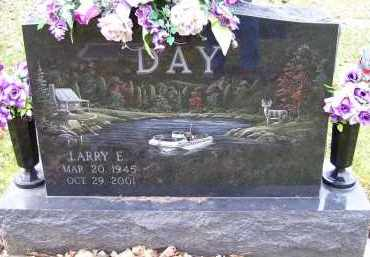 DAY, LARRY E. - Scioto County, Ohio | LARRY E. DAY - Ohio Gravestone Photos