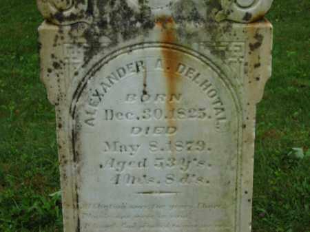 DELHOTAL, ALEXANDER A. - Scioto County, Ohio | ALEXANDER A. DELHOTAL - Ohio Gravestone Photos