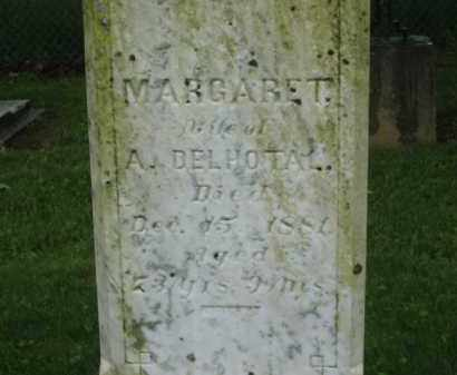 DELHOTAL, MAGARET - Scioto County, Ohio | MAGARET DELHOTAL - Ohio Gravestone Photos