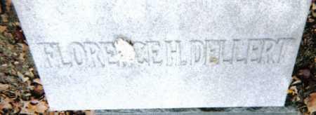 DELLERT, FLORENCE H. - Scioto County, Ohio | FLORENCE H. DELLERT - Ohio Gravestone Photos