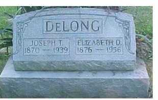 DELONG, ELIZABETH O. - Scioto County, Ohio | ELIZABETH O. DELONG - Ohio Gravestone Photos