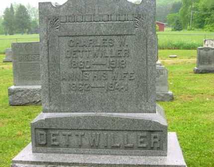 DETTWILLER, ANNIS - Scioto County, Ohio | ANNIS DETTWILLER - Ohio Gravestone Photos