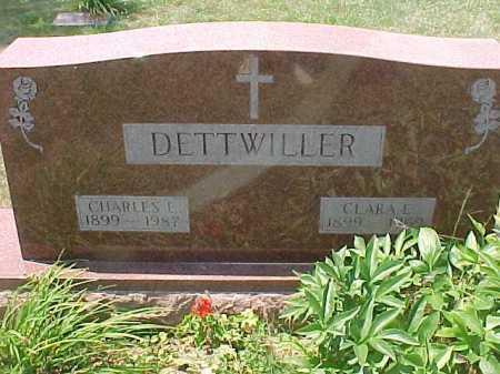 DETTWILLER, CLARA E. - Scioto County, Ohio | CLARA E. DETTWILLER - Ohio Gravestone Photos