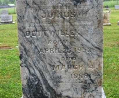 DETTWILLER, JULIUS - Scioto County, Ohio | JULIUS DETTWILLER - Ohio Gravestone Photos