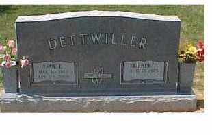 DETTWILLER, PAUL - Scioto County, Ohio | PAUL DETTWILLER - Ohio Gravestone Photos