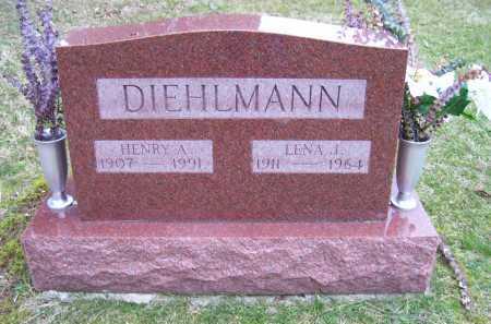 DIEHLMAN, LENA J. - Scioto County, Ohio | LENA J. DIEHLMAN - Ohio Gravestone Photos
