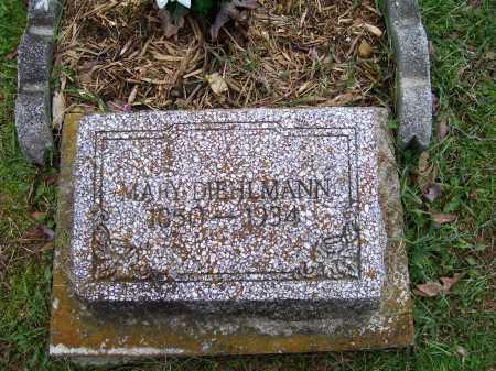 DIEHLMAN, MARY - Scioto County, Ohio | MARY DIEHLMAN - Ohio Gravestone Photos
