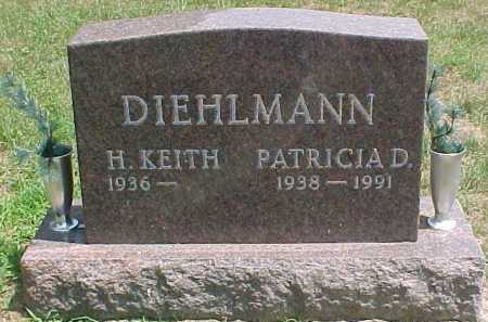 DIEHLMANN, H. KEITH - Scioto County, Ohio | H. KEITH DIEHLMANN - Ohio Gravestone Photos