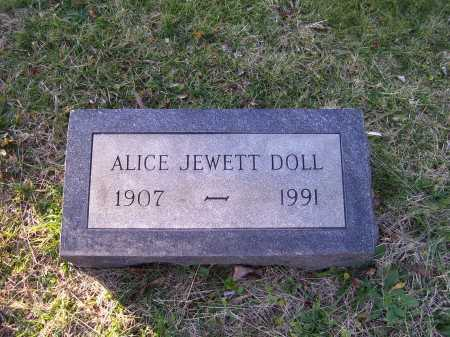 DOLL, ALICE - Scioto County, Ohio | ALICE DOLL - Ohio Gravestone Photos