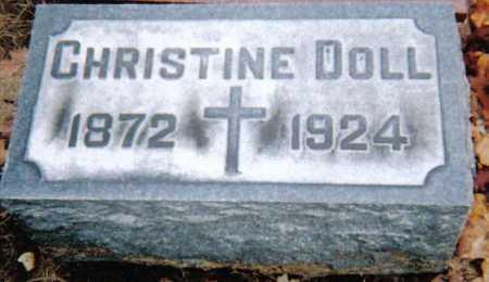 DOLL, CHRISTINE - Scioto County, Ohio | CHRISTINE DOLL - Ohio Gravestone Photos