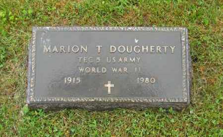 DOUGHERTY, MARION T. - Scioto County, Ohio | MARION T. DOUGHERTY - Ohio Gravestone Photos