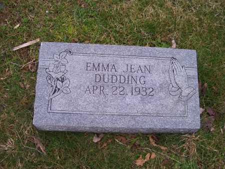 DUDDING, EMMA JEAN - Scioto County, Ohio | EMMA JEAN DUDDING - Ohio Gravestone Photos