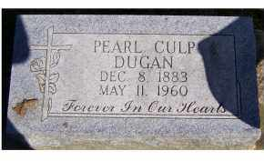 CULP DUGAN, PEARL - Scioto County, Ohio | PEARL CULP DUGAN - Ohio Gravestone Photos