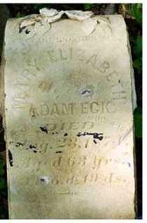 ECK, MARY ELIZABETH - Scioto County, Ohio   MARY ELIZABETH ECK - Ohio Gravestone Photos