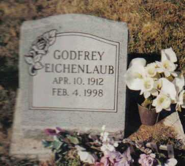 EICHENLAUB, GODFREY - Scioto County, Ohio   GODFREY EICHENLAUB - Ohio Gravestone Photos