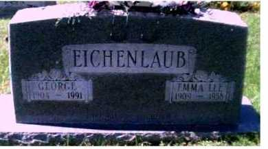 EICHENLAUB, EMMA LEE - Scioto County, Ohio | EMMA LEE EICHENLAUB - Ohio Gravestone Photos