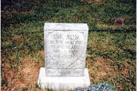 EICHENLAUB, INFANT SON - Scioto County, Ohio | INFANT SON EICHENLAUB - Ohio Gravestone Photos
