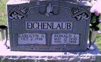 EICHENLAUB, CAROLYN A. - Scioto County, Ohio | CAROLYN A. EICHENLAUB - Ohio Gravestone Photos